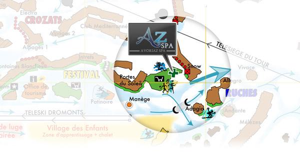 Localiser Avoriaz Spa Sur Un Plan